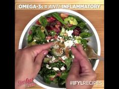 Watch this!Our 7 Minute Antioxidant Salad! in less than a minute!Easy - YouTube