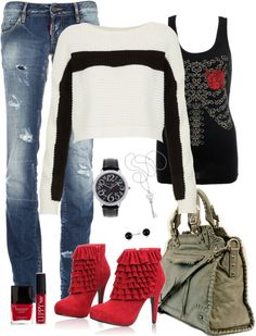 """Lexie"" by jeanean-brown ❤ liked on Polyvore"