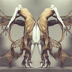 alexander mcqueen savage beauty v&a - Google Search