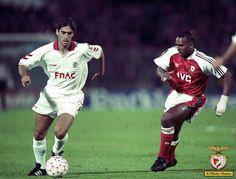 A Minha Chama: Jogos Imortais: Arsenal FC 1 Sport Lisboa e Benfica 3 (A.P.)
