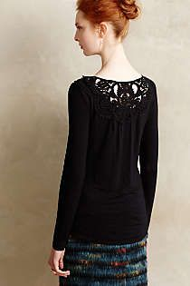 Anthropologie - Bobbinlace Tee