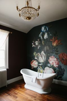 Unique Honeymoon suite ideas at Garthmyl Hall. photo by Jade Osbourne Photography. Unique wedding venues in Wales and Shropshire, stunning Bridal Suites, amazing wallpaper, wall murals, luxury wedding venue