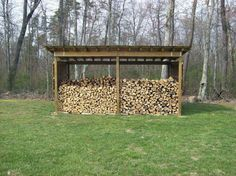 View of wood shed