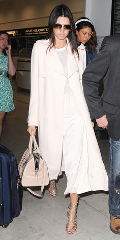 Kendall Jenner Jets to Cannes In the Sweetest Ensemble