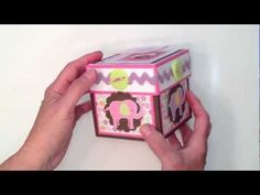 Baby Girl Explosion Box - YouTube