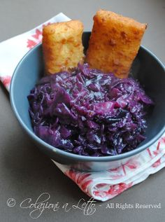 Ricetta Cavolo rosso stufato all'austriaca Just Cooking, Healthy Cooking, Cooking Recipes, Healthy Recipes, Sin Gluten, Middle Eastern Recipes, Keto, Aesthetic Food, Soul Food