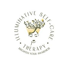 Logo Design for Illuminative Self-Care Therapy Logo by The Logo Boutique Round Logo, Round Design, Self Care, Therapy, Logo Design, Boutique, Healing, Boutiques