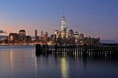 lower Manhattan One World Trade Center