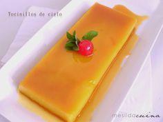 La cocina de Mesilda: TOCINILLO DE CIELO