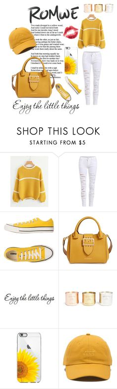 """Burst of Shine"" by mzill-fashoin29rc ❤ liked on Polyvore featuring Converse, Burberry, Tom Dixon and Vans"