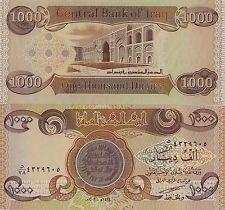 New Iraqi Dinar 1000 Note