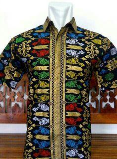 Kemeja batik motif songket prodo bali 80000