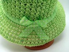 Crochet hat for women Summer cotton Green Summer hat Wide brim hat summer women's crochet etsy Crochet Sock Pattern Free, Crochet Hat With Brim, Crochet Scarf Easy, Crochet Summer Hats, Crochet Braid Styles, Crochet Hat For Women, Crochet For Beginners Blanket, Crochet Baby Booties, Crochet Cardigan