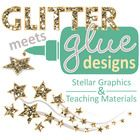 """LIKE"" me to receive updates about my latest products and sales! https://www.facebook.com/glittermeetsglue..."