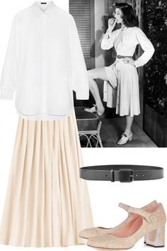 Fashion Formulas Inspired by Old Hollywood Icons  - HarpersBAZAAR.com
