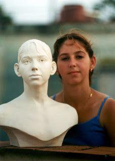 Custom Portrait Bust Sculpture. www.pradoportraits.com