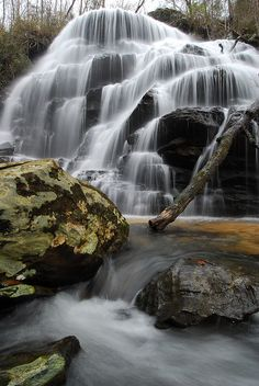 Yellow Branch Falls in Oconee County, SC - photo by Mark VanDyke Photography, via Flickr