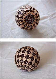 Temari ball 색실공_ 만등萬燈