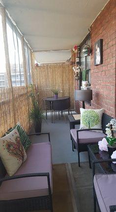 Another amazing #eysinspired #balcony - looks so cozy! Thanks Arecelys Urena for sharing your beautiful balcony!