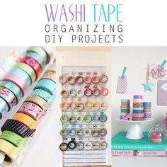 Washi Tape Organizing DIY Projects - The Cottage Market