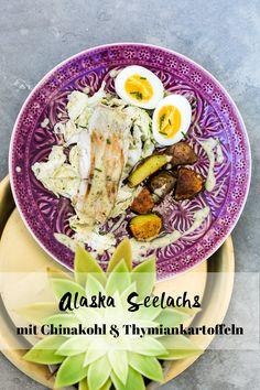 Alaska Seelachs mit Chinakohl und Thymiankartoffeln – Das Rezept auf unserem Blog I Fisch I Fischrezept I