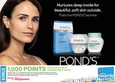 Through November 7, 2015, you can earn 1,000 Balance Rewards Points when you buy 2 participating Pond's products at Walgreens. On top of that, you can also check your October 4th local newspaper for a $1/1 Pond's coupon that will stack with this deal for even more savings. Coupon is valid through December 27, 2015. More details here: http://lbx.la/bQY2 #PondsRewards #spon