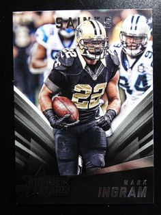 2015 Panini Rookies  amp  Stars  83 Mark Ingram New Orleans Saints Card   NewOrleansSaints d86800438