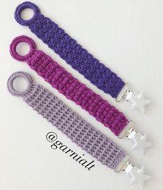 Tussa E-post :: Hekling, Heklede leker og andre ideer du har sett etter Baby Knitting Patterns, Crochet Patterns, Crochet Pacifier Clip, November Baby, Baby Barn, Newborn Crochet, Crochet Art, Crochet Basics, Diy Baby