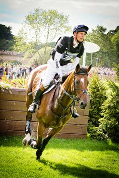 Burghley Horse Trials 2013 - William Fox-Pitt - Helen Griffin Photography