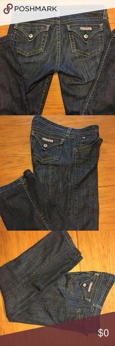 Hudson Capri Jeans Hudson brand Capri denim jeans. Width 16, rise 8 and inseam 26 Hudson Jeans Jeans Ankle & Cropped