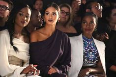 Miss USA Deshauna Barber, Miss Universe Pia Alonzo Wurtzbach, and Deborah…