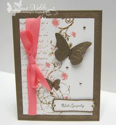 Wings of Hope Sympathy Card by luv2stamp50 - Cards and Paper Crafts at Splitcoaststampers