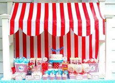 Circus Theme bday party by angela