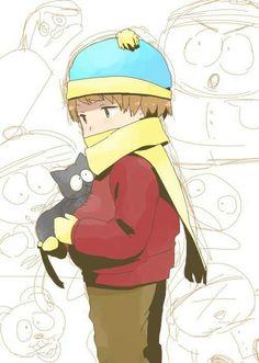 Cartman  Mr. Kitty ~ my kitteh