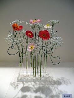 Ikebana with Poppies <3