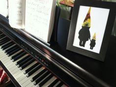Items similar to Single Parent Gnome Silhouette Framed Custom Art on Etsy 5x7 Frames, Nest Design, Silhouette Art, Single Parenting, Transfer Paper, Custom Art, Paper Goods, Gnomes, Dapper