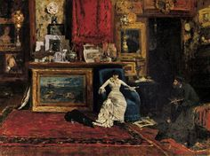 William Merritt Chase, The Tenth Street Studio, 1880 http://www.berfrois.com/2012/08/more-painting-within-paintings/