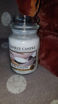 Yankee Baby Powder, Fragrance, Candles, Candy, Candle, Pillar Candles, Lights, Perfume