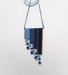 MacrameMarika / Macramé náhrdelník Sky Jewerly, Origami, Sky, Handmade, Heaven, Jewlery, Hand Made, Schmuck, Heavens
