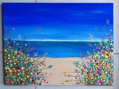 Made-By-Me....Julie Ryder: Flowers by the seaside!!