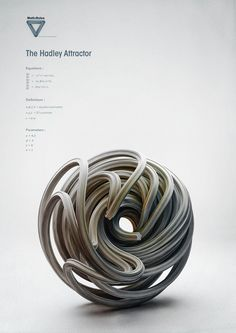 Math:Rules - Strange Attractors on Behance