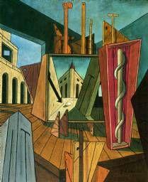 Pintura metafísica, 1917 Giorgio de Chirico