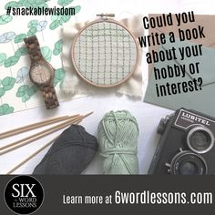 Turn your snackable wisdom into a book. Join our growing list of expert published authors. Six-Word Lessons Books Six Words, Writing A Book, Wisdom, Learning, Simple, Books, Write A Book, Libros, Studying