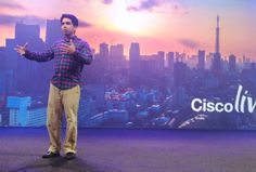 Sal Khan, founder of the Khan Academy, inspired the Cisco Live audience with his amazing  story about how he transformed education through technology.  #CSR   #Education  #CLUS