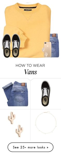 """lol nvm I'm not babysitting tmr haha"" by jasietote on Polyvore featuring Nobody Denim, Vans, Zoë Chicco and Sole Society"