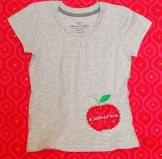 Apple Applique by meringuedesigns.net