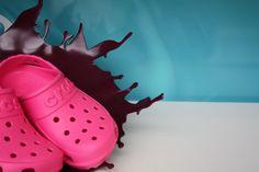 Crocs at John Lewis, visual merchandising by SFD, London - Retailand Retail Design