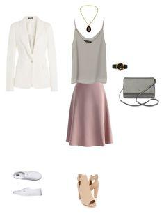 """в4"" by nataliya-vita on Polyvore featuring мода, Kate Spade, Chicwish, Maison Margiela, Vans и Rolex"