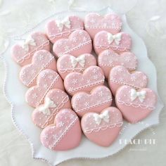 Re: Lacy Pink Heart Cookies Pink Cookies, Baby Cookies, Baby Shower Cookies, Iced Cookies, Cute Cookies, Cupcake Cookies, Sugar Cookies, Colored Cookies, Heart Cupcakes