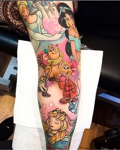 Part of a Disney sleeve done by @thebakery #inkeddisney